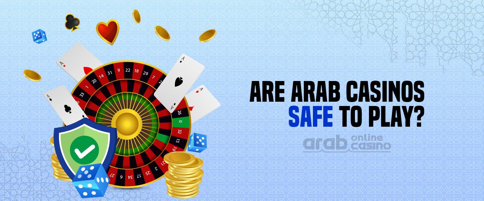 arab casino online is safe